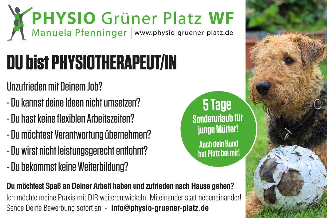 Physio Grüner Platz - Krankengymnastik in Wolfenbüttel - M. Pfenninger